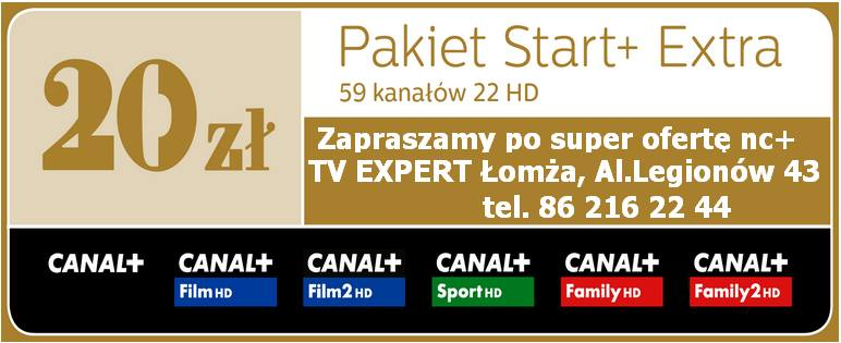 start+ extra canal+